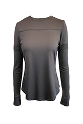 Lija Pacer Top Black available at Swiss Sports Haus 604-922-9107.