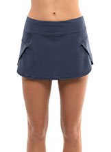 Lucky In Love Impulse Running Skort available at Swiss Sports Haus 604-922-9107.