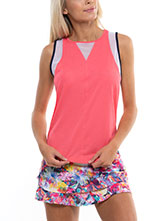 Lucky In Love Wavy Chill Out Tank available at Swiss Sports Haus 604-922-9107.