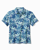 Tommy Bahama Fuego Palms Polo shirt available at Swiss Sports Haus 604-922-9107.
