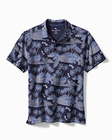 Tommy Bahama Sail Oasis Polo available at Swiss Sports Haus 604-922-9107.
