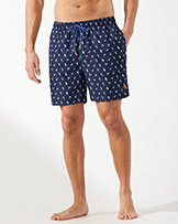 Tommy Bahama Naples Tipsy Toss 6 Inch Swim Trunks available at Swiss Sports Haus 604-922-9107.