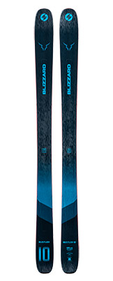 2022 Blizzard Rustler 10 Skis available at Swiss Sports Haus 604-922-9107.
