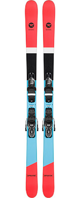 2022 Rossignol Sprayer Skis & Bindings available at Swiss Sports Haus 604-922-9107.