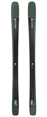 2022 Salomon Stance 90 Skis available at Swiss Sports Haus 604-922-9107.