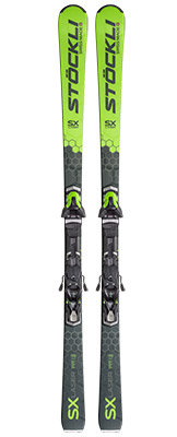 2022 Stockli Laser SX Skis & Bindings available at Swiss Sports Haus 604-922-9107.