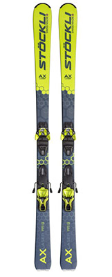2022 Stockli Laser AX Skis & Bindings available at Swiss Sports Haus 604-922-9107.