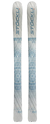 2022 Stockli Nela 88 skis available at Swiss Sports Haus 604-922-9107.