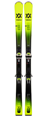 2022 Volkl Deacon 79 Skis & Bindings available at Swiss Sports Haus 604-922-9107.