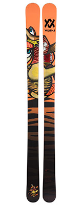 2022 Volkl Revolt 95 skis available at Swiss Sports Haus 604-922-9107.