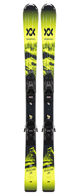 2022 Volkl Deacon Junior Skis & Bindings available at Swiss Sports Haus 604-922-9107.