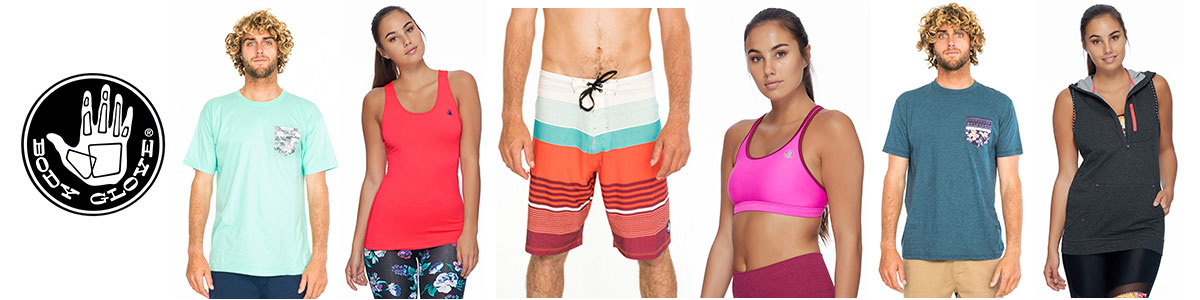 Body Glove swimwear, t-shirts & board shorts available at Swiss Sports Haus 604-922-9107.