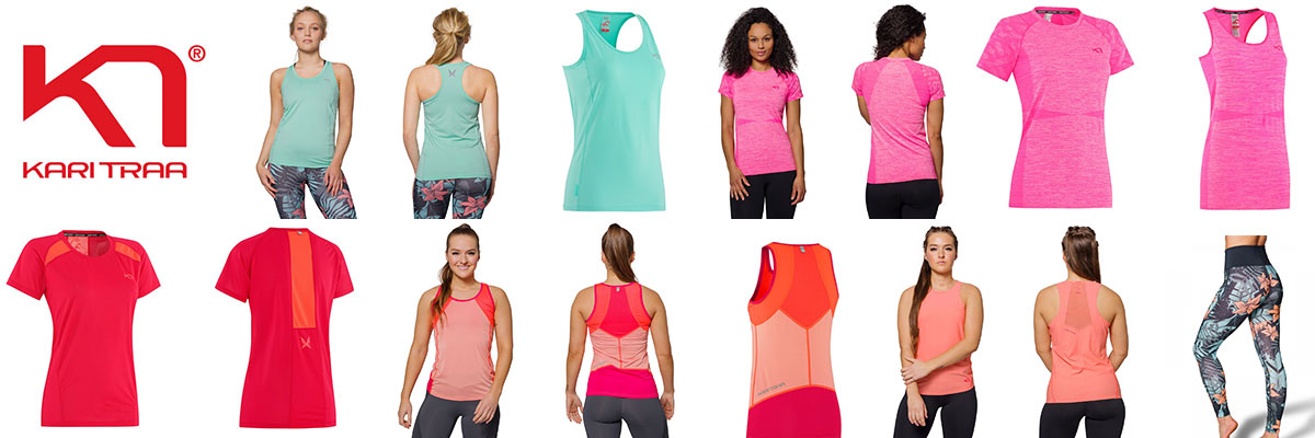 Kari Traa technical wear for women available at Swiss Sports Haus 604-922-9107.
