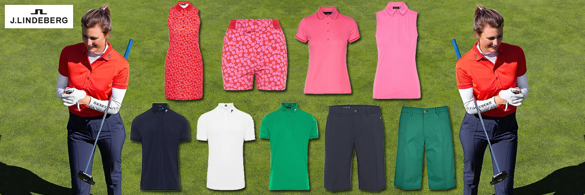 J.Lindeberg men's & women's golf wear available at Swiss Sports Haus 604-922-9107.
