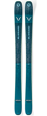 2020 Blizzard Rustler 9 skis on sale at Swiss Sports Haus 604-922-9107.