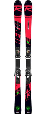 2020 Rossignol Hero Athlete FIS SL skis & bindings on sale at Swiss Sports Haus 604-922-9107.