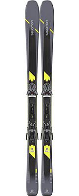 2020 Salomon XDR 80 ST C skis & bindings on sale at Swiss Sports Haus 604-922-9107.