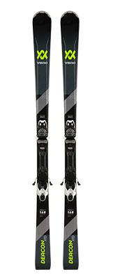 2020 Volkl Deacon XTD skis & bindings on sale at Swiss Sports Haus 604-922-9107.