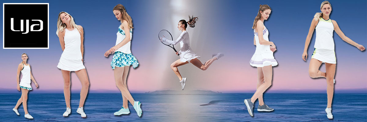 Lija women's tennis wear available at Swiss Sports Haus 604-922-9107.
