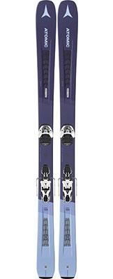 2020 Atomic Vantage 90 W women's skis on sale at Swiss Sports Haus 604-922-9107.