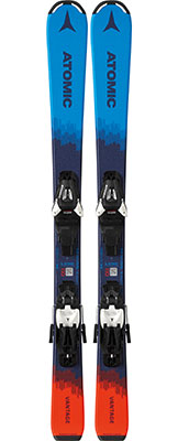 Atomic QST Max Junior Skis & Bindings available at Swiss Sports Haus 604-922-9107.