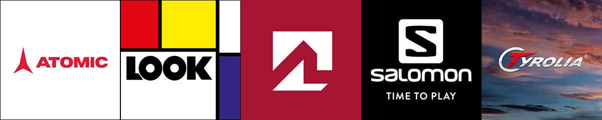 Atomic, Look, Marker, Salomon, Tyrolia, Men's, Women's, Junior & Kids ski bindings Available at Swiss Sports Haus 604-922-9107.