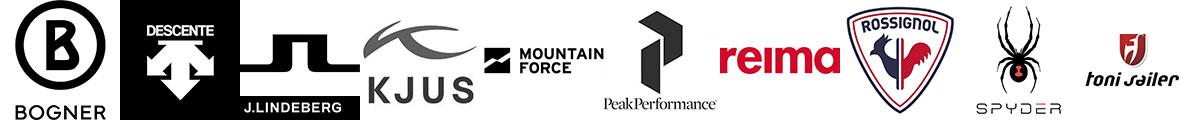 Bogner, Descente, J.Lindeberg, Kjus, Mountain Force, Peak Performance, Reima, Rossignol, Spyder, Toni Sailer Men's Women's, Junior & Kids Ski Wear.