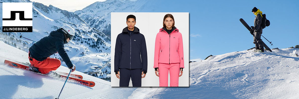 J.Lindeberg ski wear on sale. Call Swiss Sports Haus 604-922-9107 for details and availablility.