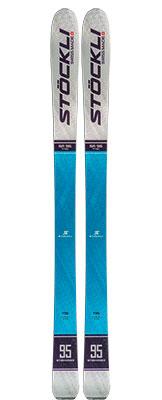 2021 Stockli Stormrider 95 skis available at Swiss Sports Haus 604-922-9107.