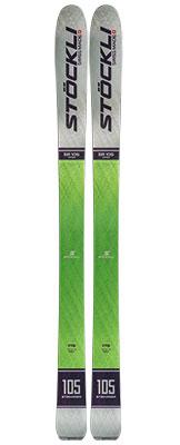 2021 Stockli Stormrider 105 Skis available at Swiss Sports Haus 604-922-9107.