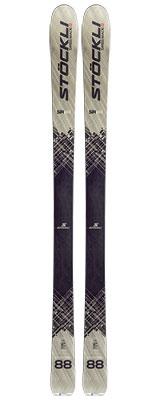 2021 Stockli Stormrider 88 skis available at Swiss Sports Haus 604-922-9107.