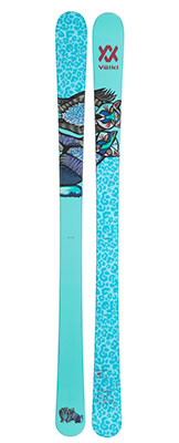 2021 Volkl Bash W junior twin tip skis available at Swiss Sports Haus 604-922-9107.