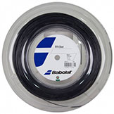 Babolat RPM Blast 130/16 Black tennis string available with stringing service at Swiss Sports Haus 604-922-9107.