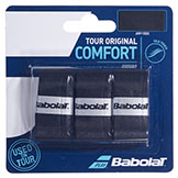 Babolat Tour Original Comfort Grip black tennis racquet grip available at Swiss Sports Haus 604-922-9107.