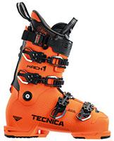 2021 Tecnica Mach 1 MV Medium Volume 130 flex ski boots available with free custom boot fitting at Swiss Sports Haus 604-922-9107.