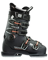 2021 Tecnica Mach 1 HV High Volume W 95 flex womens ski boots available with free custom boot fitting & fit guarantee at Swiss Sports Haus 604-922-9107.