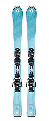 2021 Blizzard Pearl Junior skis & bindings available at Swiss Sports Haus 604-922-9107.