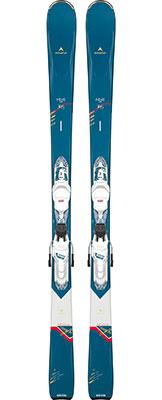 2021 Dynastar Intense 4X4 878 Womens skis & bindings available at Swiss Sports Haus 604-922-9107.