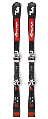 2021 Nordica Dobermann SL World Cup Plate slalom race skis available at Swiss Sports Haus 604-922-9107.
