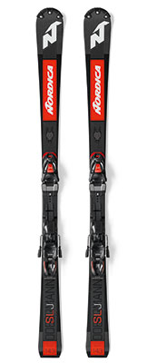 2021 Nordica Dobermann SLJ Plate slalom race skis available at Swiss Sports Haus 604-922-9107.
