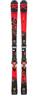 2021 Rossignol Hero Elite Plus TI skis & bindings available at Swiss Sports Haus 604-922-9107.