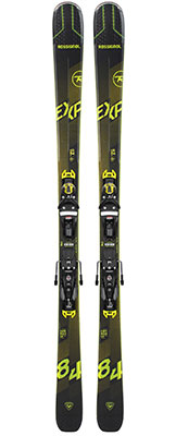 2021 Rossignol Experience 84 AI skis & bindings available at Swiss Sports Haus 604-922-9107.