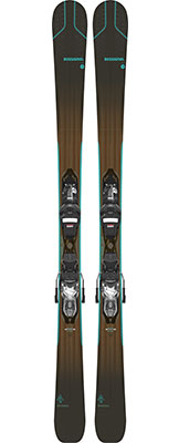 2021 Rossignol Experience W Womens skis & bindings available at Swiss Sports Haus 604-922-9107.