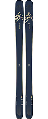 2021 Salomon QST 99 skis available at Swiss Sports Haus 604-922-9107.