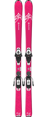 2021 Salomon Lux Junior M skis & bindings available at Swiss Sports Haus 604-922-9107.
