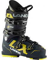 2021 Lange LX 120 flex ski boots available with free custom boot fitting & fit guarantee at Swiss Sports Haus 604-922-9107.