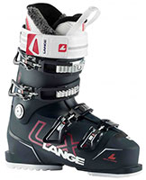 2021 Lange LX 80 flex Womens ski boots available with free custom boot fitting & fit guarantee at Swiss Sports Haus 604-922-9107.