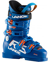 2021 Lange RS 100 Short Cuff Wide Race Ski Boots available at Swiss Sports Haus 604-922-9107.