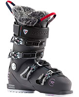 2021 Rossignol Pure Elite 90 flex womens ski boots available with free custom boot fitting & fit guarantee at Swiss Sports Haus 604-922-9107.