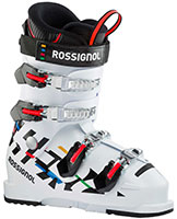 2021 Rossignol Hero JR 65 flex race ski boots available at Swiss Sports Haus 604-922-9107.